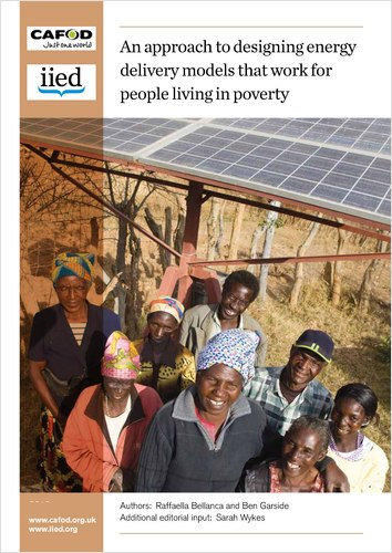 An approach to designing energy delivery models that work for people living in poverty