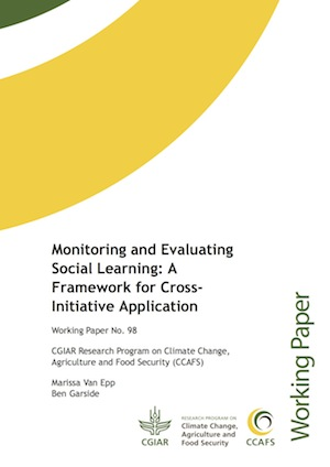 Monitoring and Evaluating Social Learning - report cover