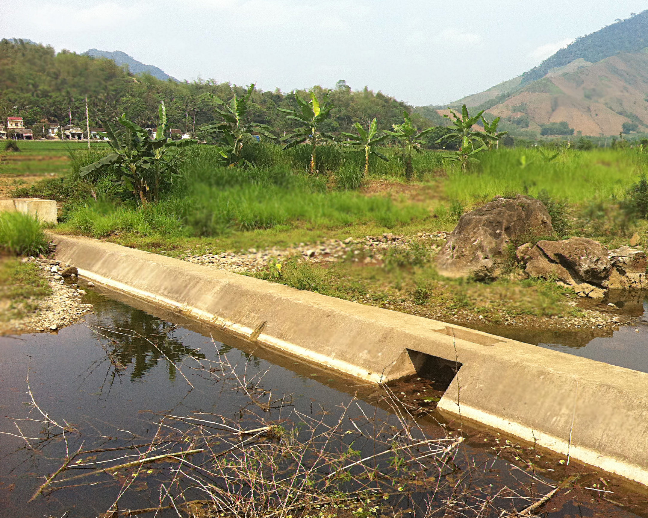 An irrigation project in Vietnam's highlands (Mike Shanahan/IIED)
