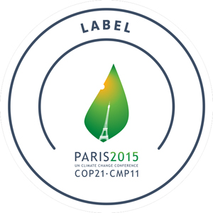 COP21 authorised event label