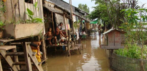 Climate vulnerable community in Peam Ro District, Cambodia