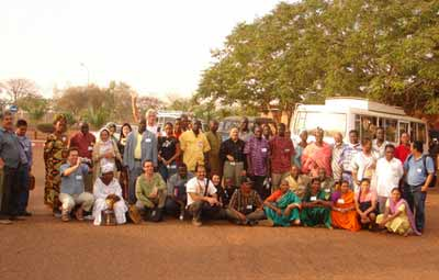 Farmers from Mali and neighbouring countries.