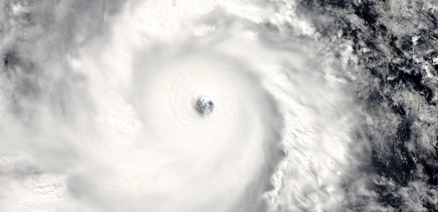 Typhoon Haiyan approaching the Philippines on 7 November 2013. Credit: NASA