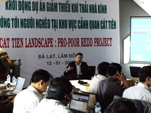 Workshop launch in Vietnam