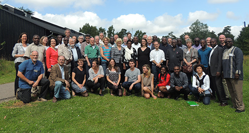 RurbanAfrica partners from Africa and Europe (Photo: RurbanAfrica)