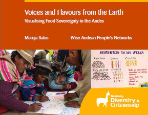 Voices and flavours from the earth- cover image