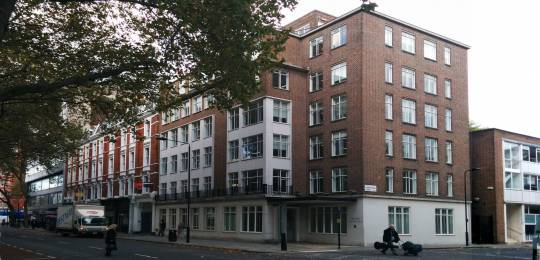 An increase in rent and a five-year maintenance programme on IIED's Gray's Inn Road property has led to increased support costs in 2015/16 (Photo: Matt Wright/IIED)