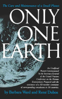 Only One Earth book cover