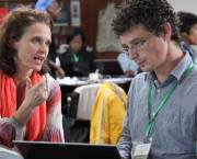 We have in the past few years made progress on the theories and understanding of social learning approaches. But more research and real-life case studies are needed (Photo: Z Sewunet (ILRI)