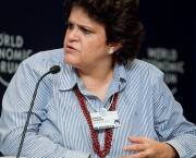 Izabella Teixeira, Minister of Environment of Brazil, taken during the World Economic Forum on Latin America in Rio de Janeiro, Brazil in 2011.
