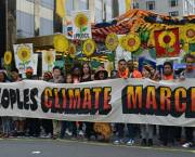 Citizens' protests against climate change action, such as this march in New York in 2014, have moved from the streets to the courts (Photo: South Bend Voice, Creative Commons, via Flickr)