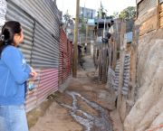This barrio in Guatemala has no running water or sewers. The country receives abundant rainfall, but lacks infrastructure to deliver water to households (Photo: David Amsler, Creative Commons via Flickr)