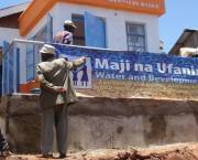 A new sanitation block being constructed in Kibera settlement, Nairobi, Kenya. Most of Kibera's residents don't have access to electricity or running water (Photo: Sustainable Sanitation, Creative Commons via Flickr)