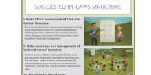 David Arach presented Namati's approach to community land protection, focusing on the key stage of community by-laws drafting, in the IIED webinar (Image: David Arach)