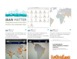 An excerpt from IIED's social media activity on World Cities Day, compiled on Storify (Image: IIED)