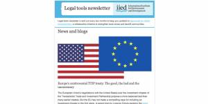 The first edition of the Legal Tools newsletter is out now
