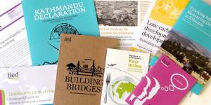 IIED publications