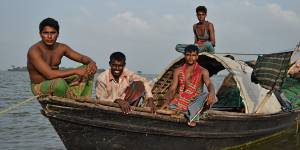 Fishermen from Mayadip Island, Bangladesh. IIED will be discussing Bangladesh's work on payments for sustainable fisheries at the EDD15 forum (Photo: Matthew Becker, the Advocacy Project, Creative Commons via Flickr)