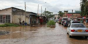 Disasters, such as this flooding in Old Bagamoyo Road, Mikocheni, Dar es Salaam, were the subject of discussion in Sendai (Photo: Matthew Wood-Hill, Creative Commons, via Flickr)