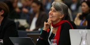 Debra Roberts will become the latest 'outstanding woman in development' to deliver the Barbara Ward Lecture