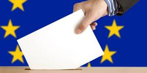 People will place their vote in the European Parliament elections on 22 May