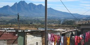 Langrug informal settlement, South Africa, May 2014 (Photo: Diana Mitlin/IIED)