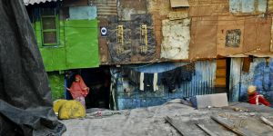 Dharavi slum, Mumbai, India (Photo: Akshay Mahajan, Creative Commons via Flickr)