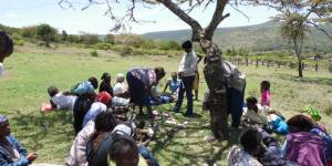 Identifying social impacts at Ol Pejeta Conservancy in Kenya (Photo: Phil Franks/IIED)