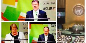 A host of government leaders made pledges at the 2015 UN Climate Summit hosted by Secretary-General Ban Ki-Moon (Photos: Saleemul Huq/IIED)
