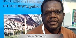 Oscar Simanto, one of the founders of the African Forest Enterprises Connect Network (AFECONET), connect forest and farm producers across Africa (Image: IIED)