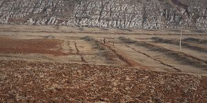 The impact of drought on formerly arable land can be seen in Fuyuan county in southwest China's Yunnan province, an area known for its mild climate (Photo: Mingjia Zhou, Creative Commons, via Flickr)