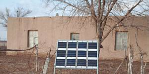 The solar panels at this rural health centre in Uzbekistan help provide power for electricity and heating. A safe, reliable and affordable energy supply allows the clinic to improve the quality of medical services it can offer (Photo: UNDP in Uzbekistan, Creative Commons via Flickr)