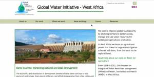 The GWI website (Photo: IIED)