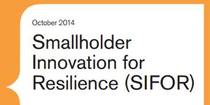 Smallholder Innovation for Resilience (SIFOR) - Qualitative Baseline Study, Mijikenda Community, Kenyan Coast