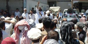 Villagers in Chitral protest about unreliable electricity supplies (Photo: Ground Report, Creative Commons via Flickr)