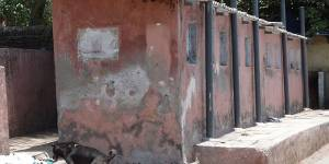 A toilet block in Mumbai, India, where people living in different informal settlements experience distinct forms of inadequate sanitation (Photo: Renu Desai)