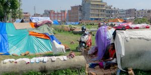 The 2015 Nepal earthquake destroyed some 600,000 homes. Rebuilding has been slow (Photo: SIM Central and South East AsiaFollow, Creative Commons via Flickr)