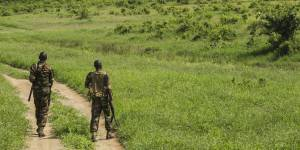 Patrolling in Keyna's Tsavo West National Park: rangers and wardens guard against poachers, but also work with local communities to resolve human-wildlife conflicts (Photo: Ninara, Creative Commons, via Flickr)