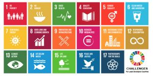 The 17 Sustainable Development Goals (Photo: United Nations, via Wikipedia Commons)