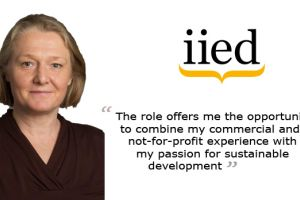 A head and shoulders image of new IIED chief operating officer Deborah Harris, who started her role on 23 May (Photo: Deborah Harris)