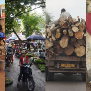 Four examples of informal economic activity (Photos: IIED)