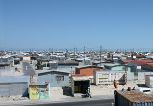 Khayelitsha on the outskirts of Cape Town is South Africa's fastest-growing township (Photo: Achala Chandani/IIED)