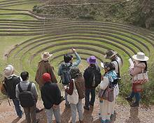 IIED will help to host a private field trip to the Potato Park, Peru during COP20 (Photo: Adam Kerby)