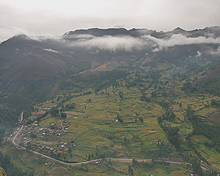 The Potato Park, Peru, where mountain communities from Peru, China and Bhutan have shared knowledge (Photo: Adam Kerby)