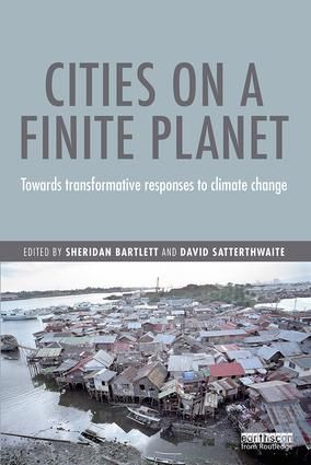 The front cover of Cities on a finite planet (Image: Earthscan)