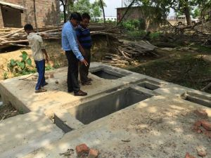 Decentralised wastewater treatment plant in peri-urban area in Gorakhpur, Uttar Pradesh (Photo: David Dodman/IIED)