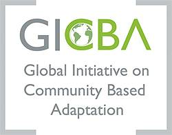 The Global Initiative on Community-Based Adaptation (GICBA) logo