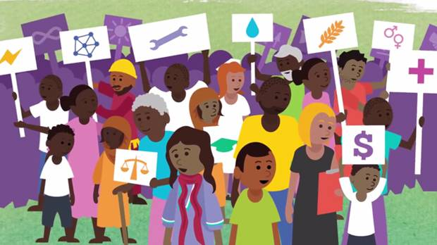 IIED's animation explains what the Sustainable Development Goals are and highlights why they matter (Image: IIED/Hands Up)