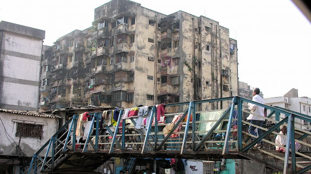 Mumbai's Dharavi settlement has a thriving informal economy. The government's redevelopment schemes have been hit by controversy and stalled for more than a decade (Photo: Jon Hurd, Creative Commons via Flickr)