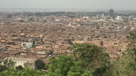 Ibadan, Nigeria, a city that has experienced devastating high winds and flooding (Photo: David Dodman/IIED)